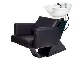 Мойка парикмахерская Вегас с креслом Куби, раковина Тюльпан