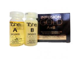 INFUSION GOLD A+B масло для восстановления волос с жидким золотом и кератином 2 x 10 мл