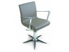 Aluotis ecoblack кресло парикмахерское