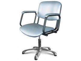 Парикмахерское кресло Контакт (пневматика, хром)