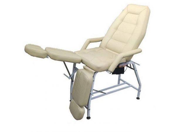 Педикюрно-косметологическое кресло СП Люкс с массажем и подогревом